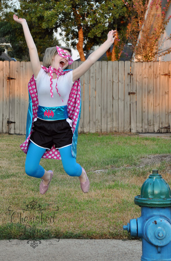 Handmade Super Hero Costume & ADULT: Polka Dot Superhero - Really Awesome Costumes
