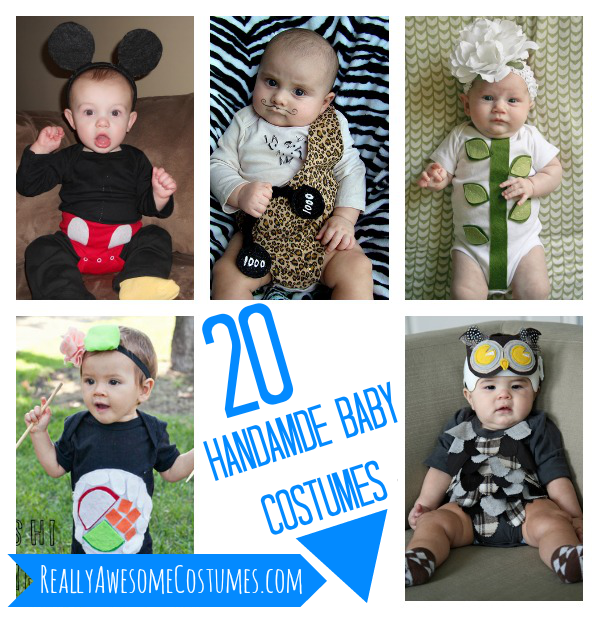 20 Handmade baby costumes  sc 1 st  Really Awesome Costumes & 20 Handmade baby costumes - Really Awesome Costumes