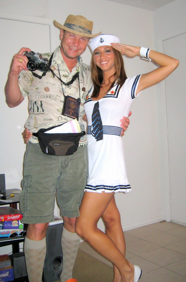 ideas for homemade tourist adult costumes