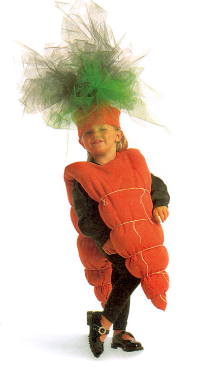 DIY vegetable costume