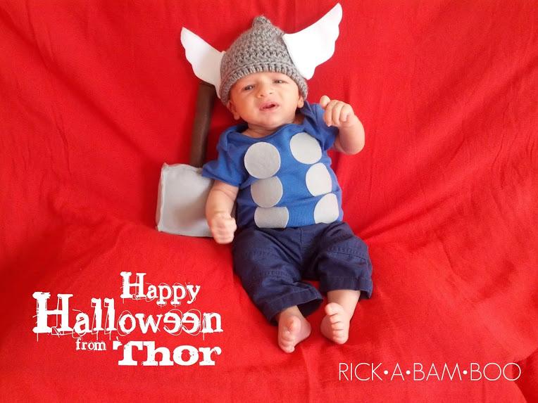 Baby Thor Costume
