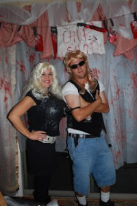 couples diy dog the bounty hunter and wife costume really awesome