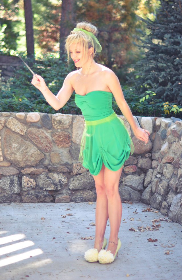 great adult tinkerbell costume