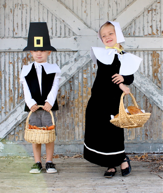 Kids diy pilgrim costumes really awesome costumes