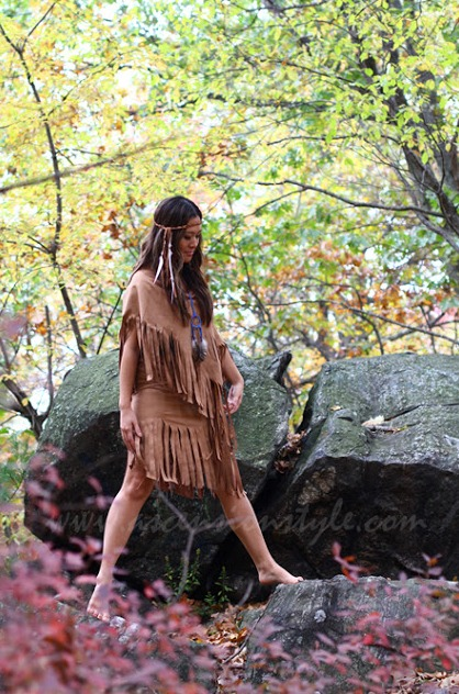 Diy Pocahontas Costume Thanksgiving Ar...