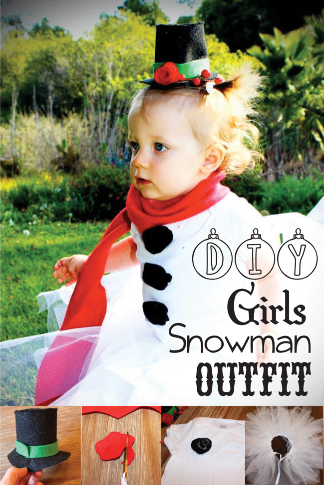 Christmas archives really awesome costumes diy girls snowman outfit solutioingenieria Choice Image