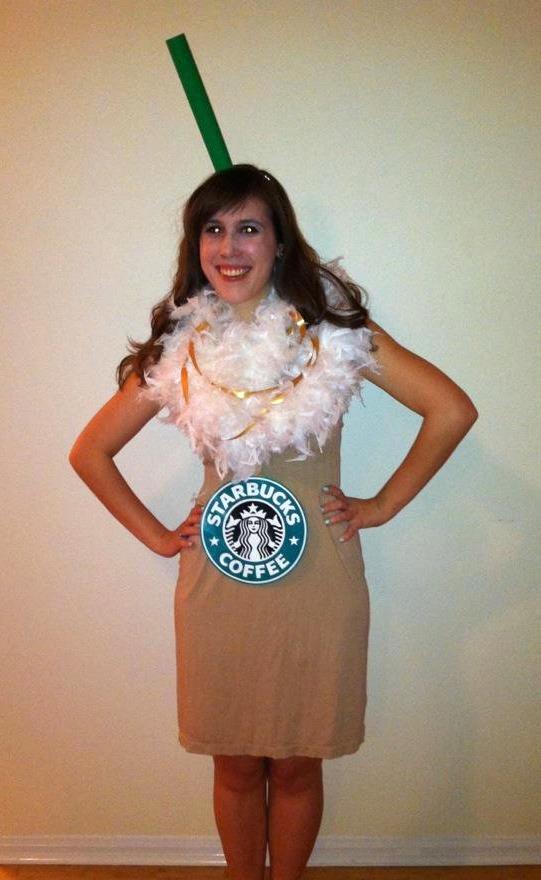 ADULTS: DIY Starbucks Costume