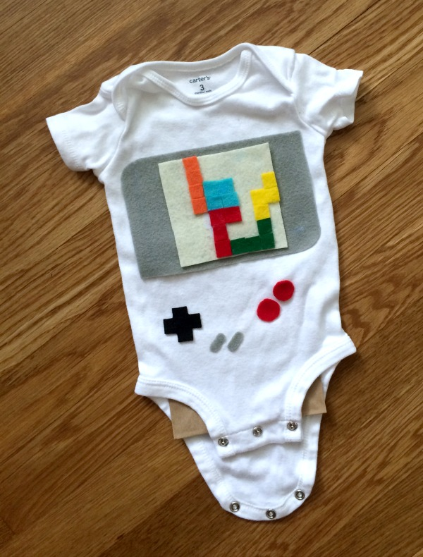 DIY Game boy costume