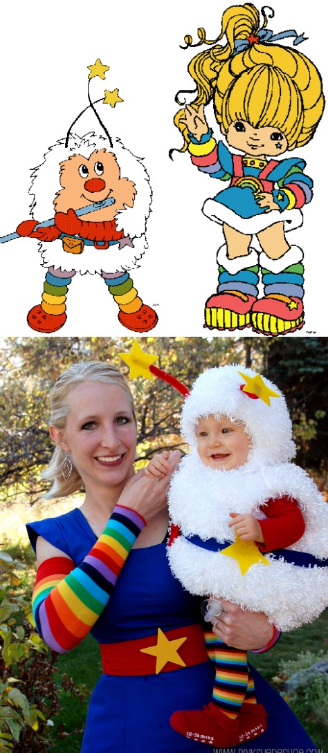 DIY twink costume  sc 1 st  Really Awesome Costumes & COUPLES: DIY Rainbow Brite and Twink - Really Awesome Costumes