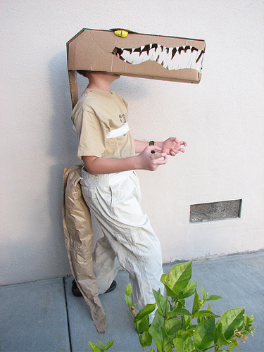 DIY Crocodile costume