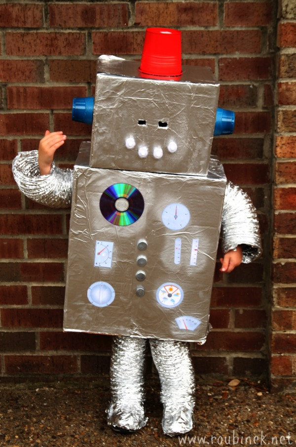 Toy archives really awesome costumes for Robotic halloween decorations