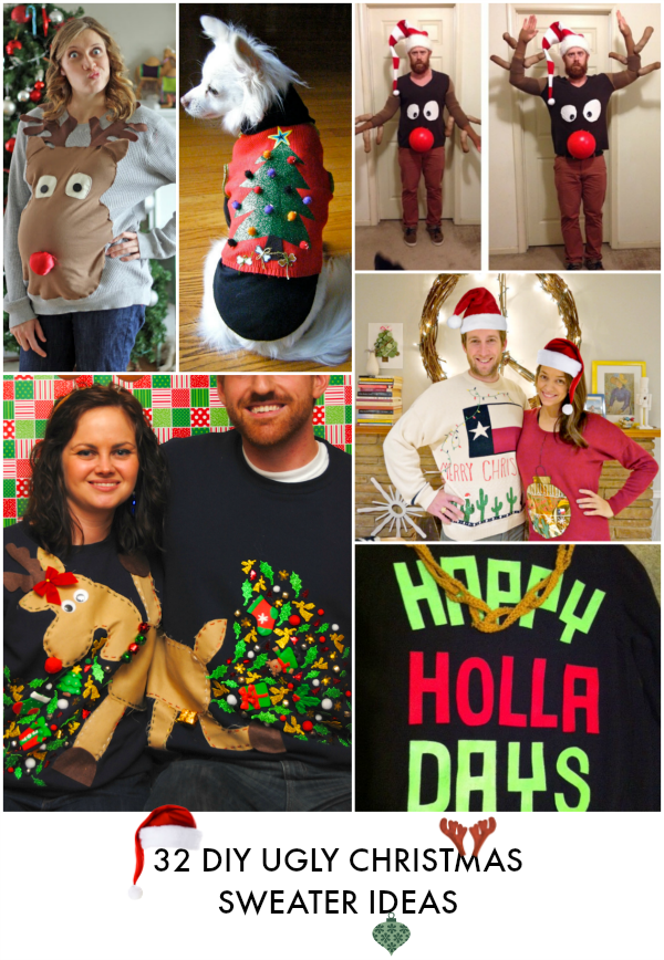 Christmas archives really awesome costumes diy ugly christmas sweaters solutioingenieria