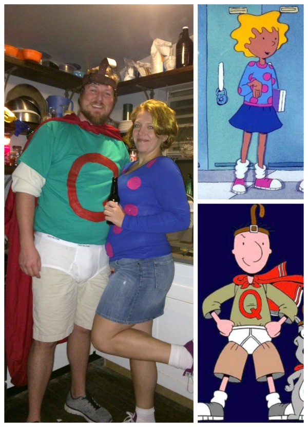 Couples: Quail Man and Patty Mayonnaise Costume - Really ... Quailman And Patty Mayonnaise Costume