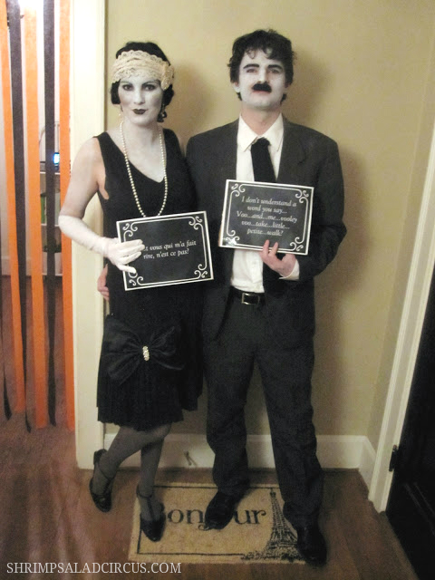 Silent-Film-Star-Halloween-Costume  sc 1 st  Really Awesome Costumes : famous movie character couples costumes  - Germanpascual.Com