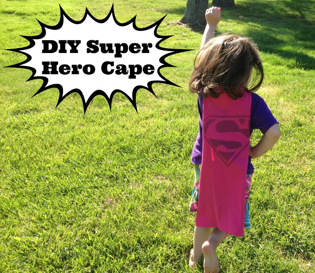 handmade super hero cape