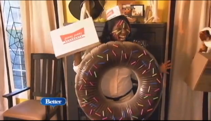 DIY donut costume