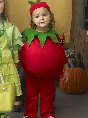 diy veggie costume