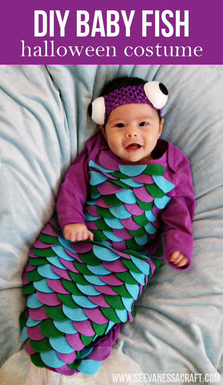 DIY fish costume