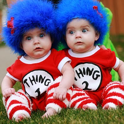 DIY thing 1 & thing 2 costumes