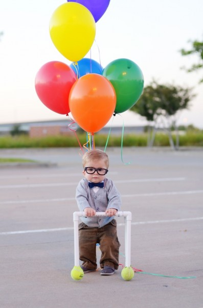 DIY Carl from Up costume