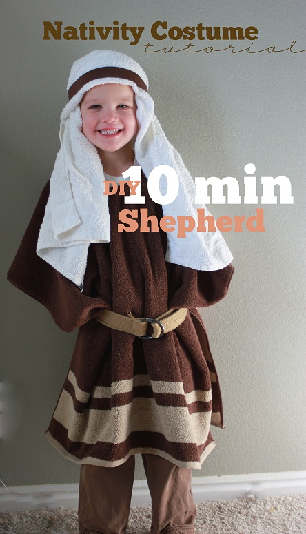 diy nativity costume