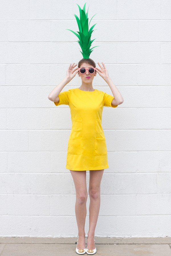 Handamde pineapple costume