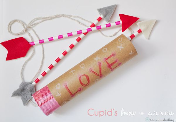 Cupid's Bow and Arrow Craft Costume