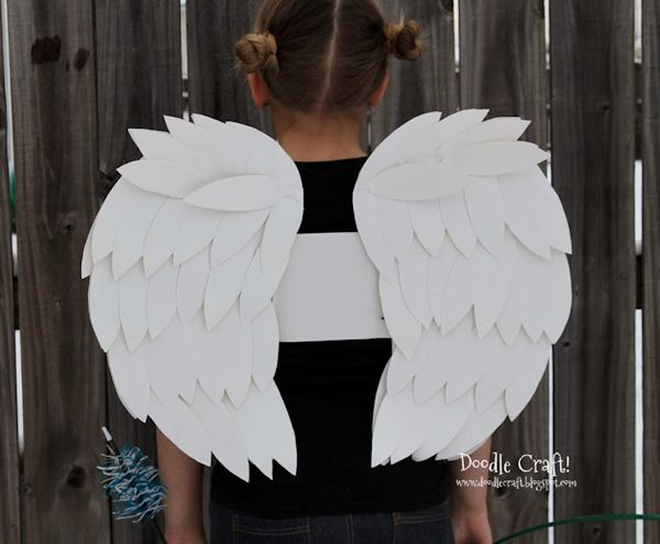 Duct Tape Wings Costume