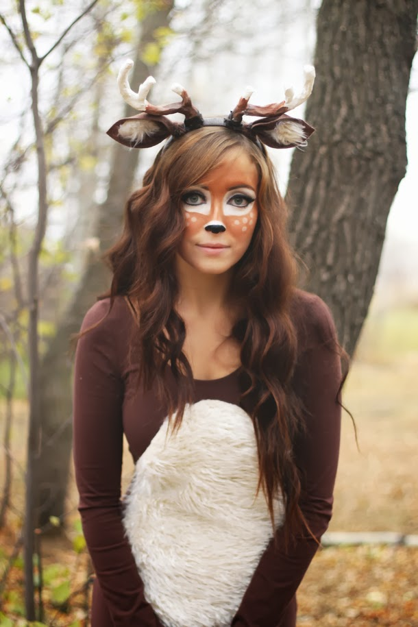 adults deer costume really awesome costumes. Black Bedroom Furniture Sets. Home Design Ideas